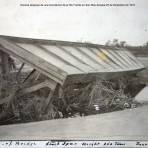 Escena despues de una Inundacion de el Rio Fuerte en San Blas Sinaloa 25 de Diciembre de 1919