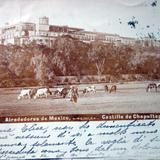 El Castillo de Chapultepec Por el fotografo Abel Briquet ( Circulada el 11 de Diciembre de 1902 ).