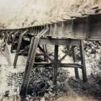 Puente Ojo de Agua de la via ferroviaria de La Cd. de Mexico a Veracruz. - Maltrata, Veracruz