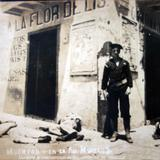 Muertos en la Avenida Morelos durante  La ocupación estadounidense de Veracruz.