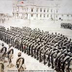 El Ejercito durante  La ocupación estadounidense de Veracruz.