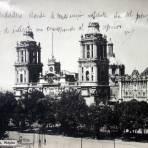 La Catedral de la Cd.de Mexico por el Fotografo Jacob Granat.
