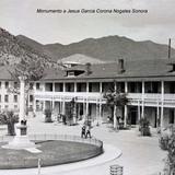 Monumento a Jesus Garcia Corona Nocozari Sonora ( Circulada el 5 de Diciembre de 1920 )