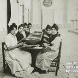 Mujeres envolviendo tabaco Cigarrera La Nacional Irapuato 1899