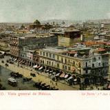 Vista general desde el Zócalo