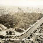 Vista hacia la Alameda central desde el edificio La Mariscala