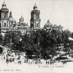 El Zócalo y la Catedral