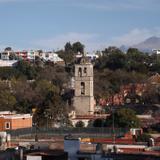 Vista del Centro de la ciudad de Tlaxcala. Diciembre/2017