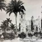 La Plaza  de Armas. - Córdoba, Veracruz