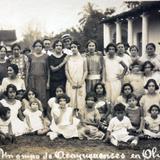 Un grupo de Acayuquenses en Oluta  fechada el 5 de Octubre de 1926. - Acayucan, Veracruz