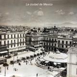 Panorama de La ciudad de Mexico.