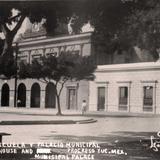 Palacio mucicipal de Progreso Yucatan .