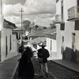 Escena Callejera  de Patzcuaro Michoacan.