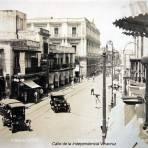 Calle de la Independencia Veracruz.