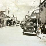 Escena Callejera ( Circulada el 28 de Marzo de 1947 ).