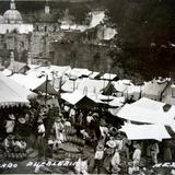 Mercado pueblerino.