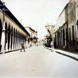 Calle y portal Allende.