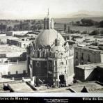 La Villa de Guadalupe por el Fotógrafo Abel Briquet ( Circulada el 16 de Noviembre de 1908 ).