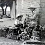 Tipos mexicanos  Vendedores de Canastas.