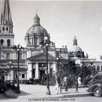 La Catedral de Guadalajara, Jalisco 1939.