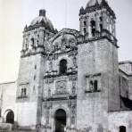 La catedral de Oaxaca 1939