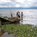 Pescadores en el Lago de Chapala (1958)