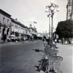 Escena Callejera  de  Morelia, Michoacán 1939.