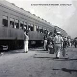 Estacion ferroviaria de Mazatlán, Sinaloa 1939