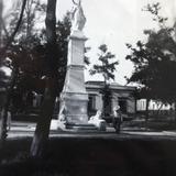 Monumento en La Plaza de Mazatlán, Sinaloa 1939
