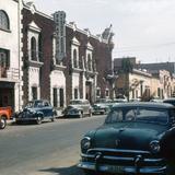 Calle del Hospicio, hoy parte de la Plaza Tapatía (1953)