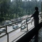 Alameda Central desde el Hotel del Prado (1955)
