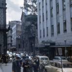 Avenida Madero y antiguo Hotel Guardiola (1955)