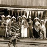 Turistas en Tijuana, de White Star Tours  (Agosto 1915)