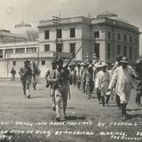Soldados rebeldes capturados por marinos estadounidenses (Agosto 10, 1914)