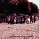 Escena Callejera  de Santiago Papasquiaro, Durango 1956