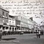 En la Plaza de La Constitucion ( Circulada 12 de Abril de 1922 ) .