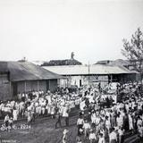 Desfile de las fiestas patrias en puerto Mexico -Coatzacoalcos Veracruz 16 de Septiembre de 1924