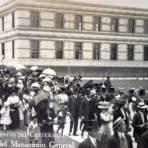 FIESTAS DE EL CENTENARIO Sep 1910 Inaguracion del manicomio general por el fotografo Fernando Kososky.