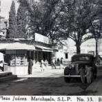 En la Plaza Juarez.