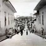 Calle de Alvaro Obregon.