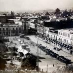 Vista parcial fechada en 1916.