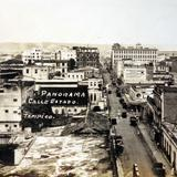 Panorama y calle Estado.