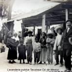 Lavanderia publica Tacubaya Cd. de Mexico.