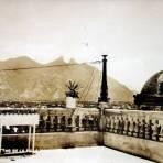 Cerro de la Silla  ( Circulada el 20 de Mayo de 1926 ).