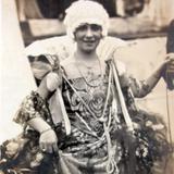 Carnaval de 1926 La gran duquesa Margarita Parrayas.
