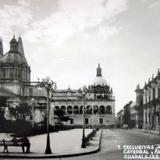 Palacio Municipal y Catedral Guadalajara, Jalisco.