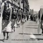 Desfile Septembrino de Morelia Michoacan.