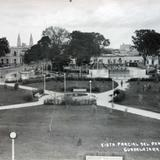 Vista parcial parque Revolucion.