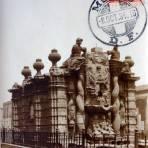 El Salto del agua postal MAXIMA Por Hugo Brehme ( Circulada el 8de Octubre de 1934 ).