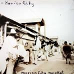 Tipos mexicanos mercado tipico Ciudad de México ( 1932 ).